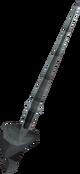 Gorgonite rapier detail