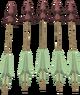Promethium arrows detail