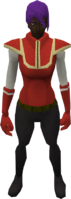 Retro reinforced tunic