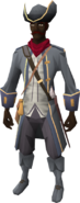 Colonist's outfit equipped (male)