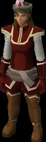 Blood tiara equipped