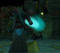 Saradomin takes the wand.png