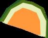 Watermelon slice detail