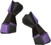 Miner gauntlets (mithril) detail