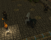 Nomad kills warrior