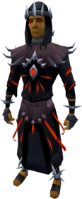 Robes of subjugation set equipped