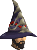 Dragonbone mage hat chathead