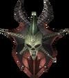 Malevolent kiteshield detail