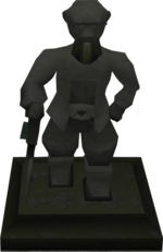 A Finished Statue