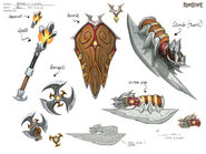 Armadyl rewards concept art