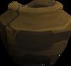 Cracked smelting urn (nr) detail