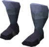 Warrior boots (rune) detail