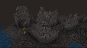 Dragonkin ruins old