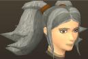 Female hair odango