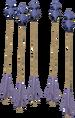 Argonite arrows detail