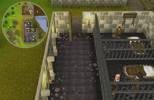 Compass clue Port Sarim inside Port Sarim Jail