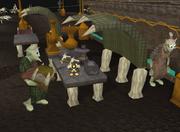 Crate goblin delivering