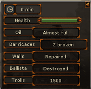 Troll Invasion repair status interface