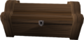Mahogany treasure chest built