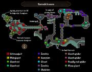 Varrock Sewers map