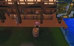 Simple clue Taverley mill barrel