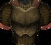 Bronze chainbody detail