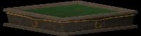 Adorned hedge base