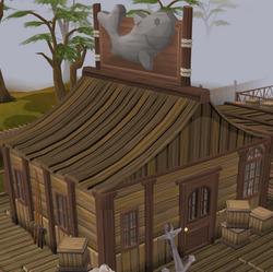 Fishing Guild Shop exterior
