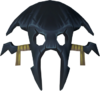 Black mask detail