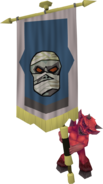 Banner carrier (mummy)