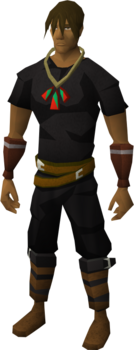 Pendant of Strength equipped