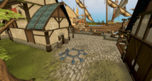 Port Sarim lodestone location