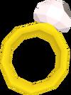 Antique ring detail