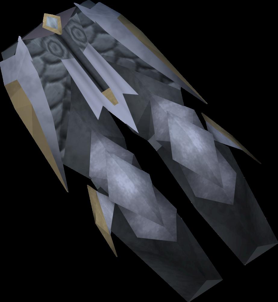 Lucky Armadyl chainskirt detail