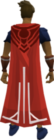 Milestone cape (60) equipped