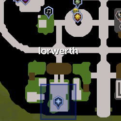 Lord Iorwerth location