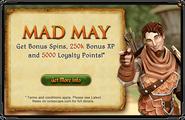 Mad May interface