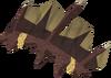 Megamastyx hide detail