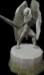 Sturdy Saradomin statue