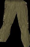 Jungle camo legs detail
