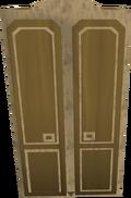 Teak wardrobe detail