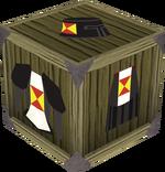 Black heraldic armour set 4 (sk) detail