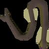 Burnt cave eel detail