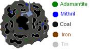 Mining Map Fremmy Isles