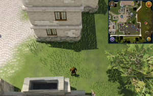 Compass clue Falador north of Artisans Workshop