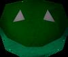 Frog mask detail