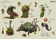 Penance creatures concept art