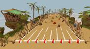 Beach ball rolling