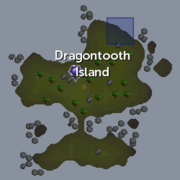 Dragontooth Shipwreck chain location