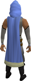 Saradomin team cape equipped